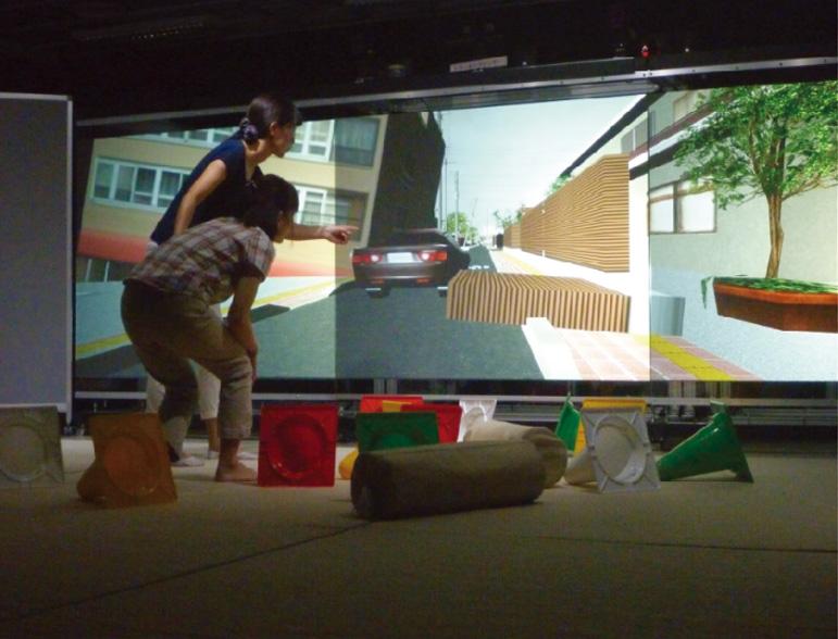Disaster prevention personnel training simulator